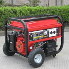 Chainsaws and generators