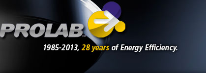 Prolab - 1985-2013, 28 years of energy efficiency